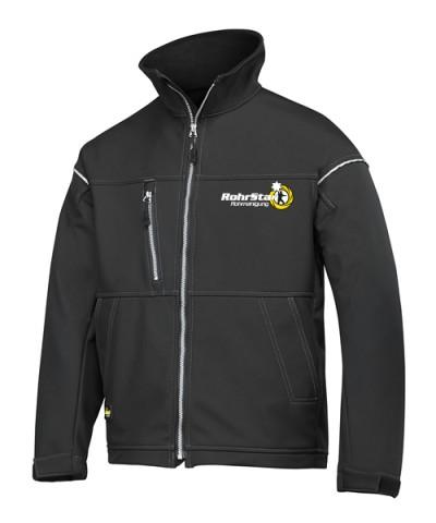 Softshell Jacke mit RS-Logo