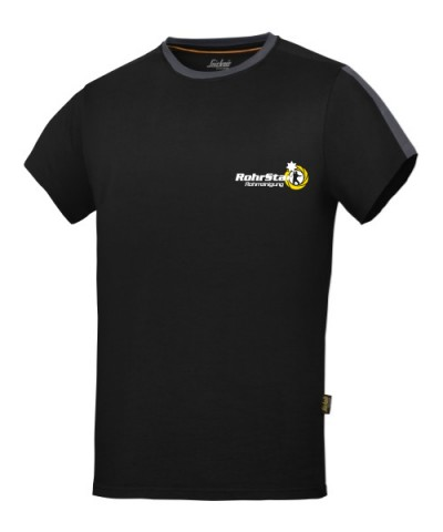 T-Shirt mit RS-Logo schwarz
